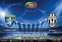 Prediksi Frosinone Calcio vs Juventus 24 September 2018