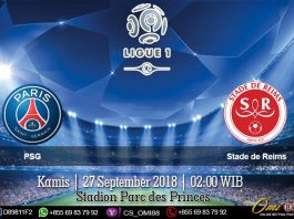 Prediksi Paris Saint-Germain vs Stade de Reims 27 September 2018