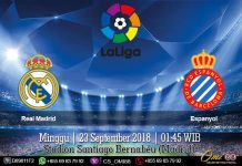 Prediksi Real Madrid vs Espanyol 23 September 2018
